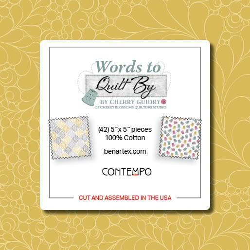 Words to Quilt By 5x5 Pack