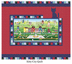 Kitty City Quilt