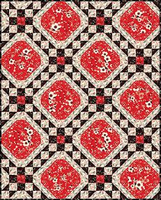 Checkerboard Florals