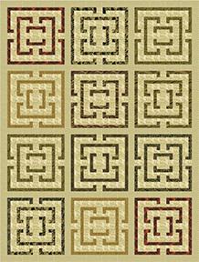 Metallic Maze