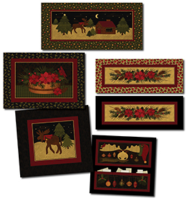 Moose For Christmas Patterns