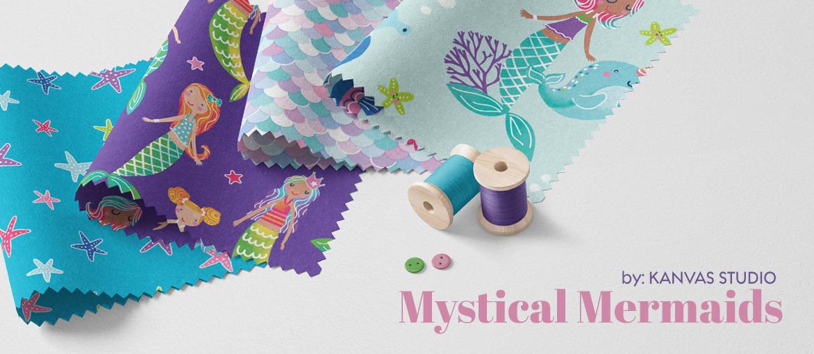 Mystical Mermaids by Kanvas Studio